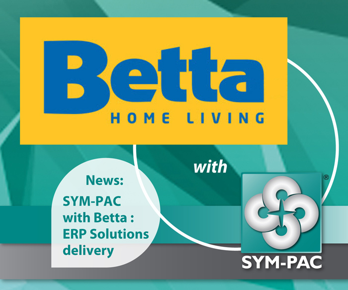 Betta & SYM-PAC : ERP Solutions Delivery Implementation