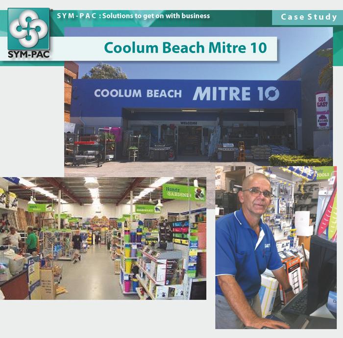 SYM-PAC Case Study : Coolum Beach Mitre 10