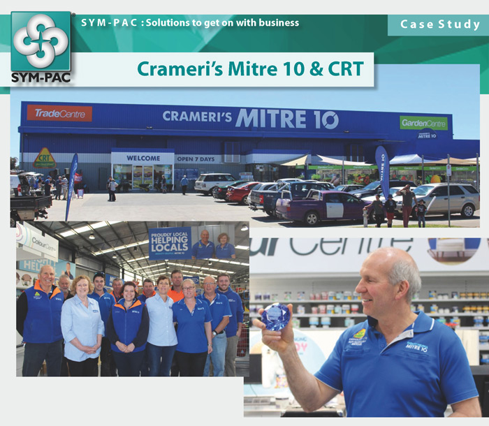 SYM-PAC Case Study : Crameri's Mitre 10 & CRT