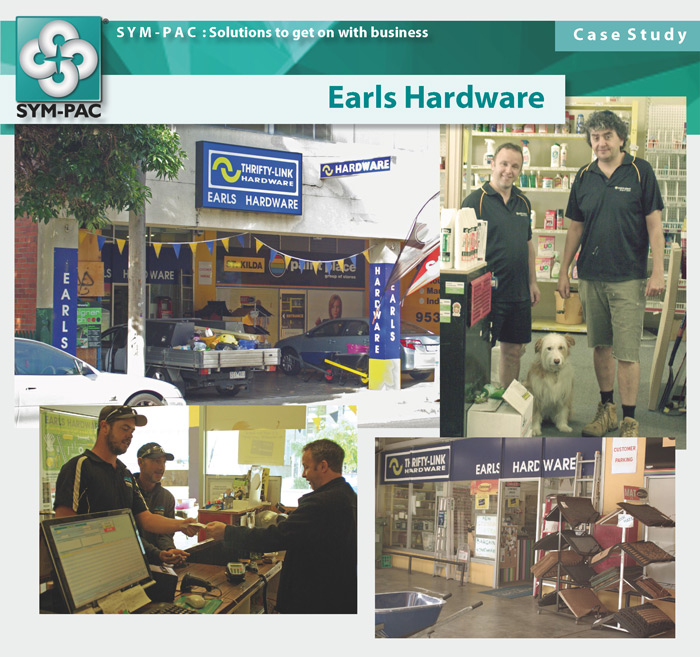 SYM-PAC Case Study : Earls Hardware