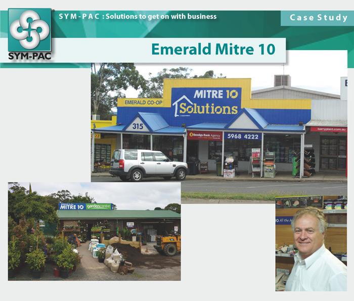 SYM-PAC Case Study : Emerald Mitre 10