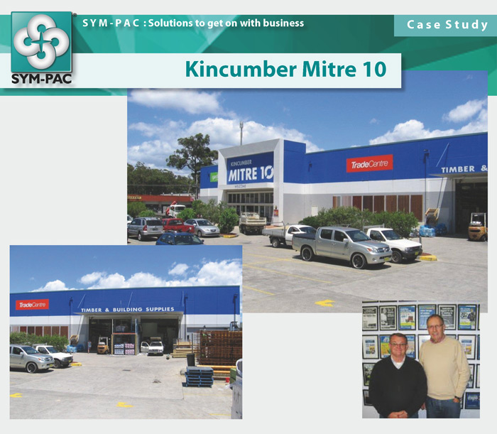SYM-PAC Case Study : Kincumber Mitre 10