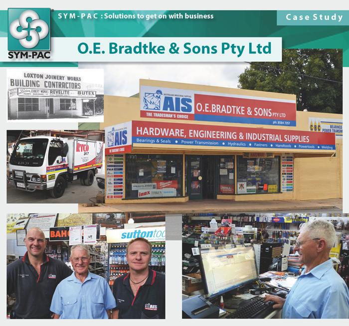SYM-PAC Case Study : O.E. Bradtke & Sons