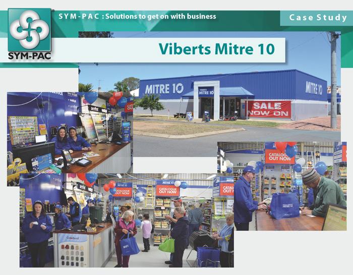 SYM-PAC Case Study : Viberts Mitre 10