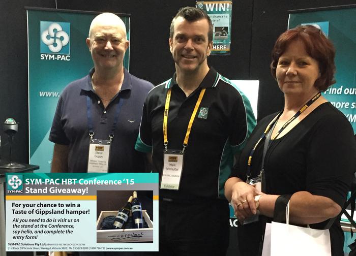 Hbt National Conference Melbourne 2015 Sym Pac Solutions
