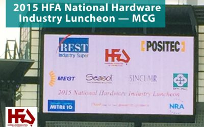 HFA National Hardware Industry Luncheon 2015