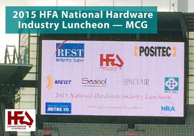 HFA National Hardware Industry Luncheon 2015