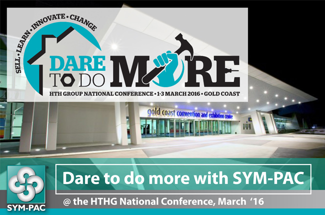 Dare to do more : SYM-PAC at the HTHG Conference '16
