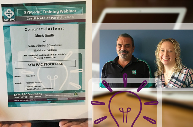 New : SYM-PAC Training Webinars for users