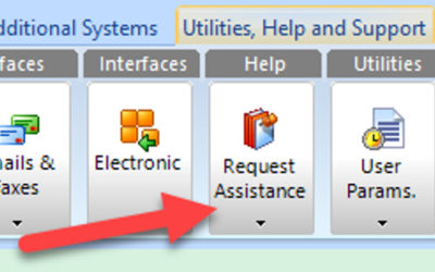 SYM-PAC how to : Request Assistance from inside the SYM-PAC system