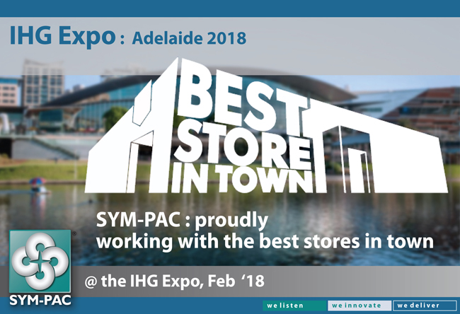 SYM-PAC at the IHG Expo : February '18