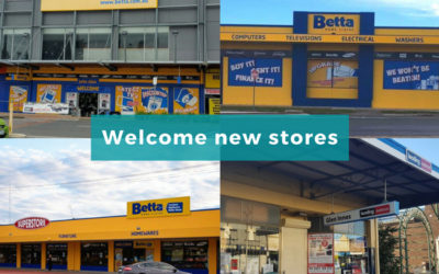 Welcome new stores to SYM-PAC : Mar '18