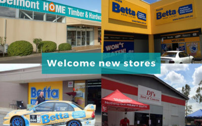 Welcome new stores to SYM-PAC : Apr '18