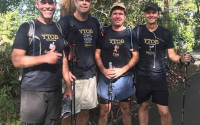 Marty of Smith Bros. Longreach on fundraising Oxfam Trailwalker : June '18