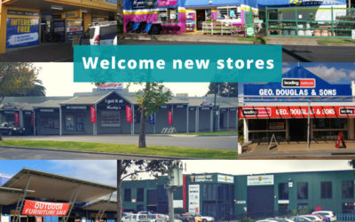 Welcome new stores to SYM-PAC : June '18