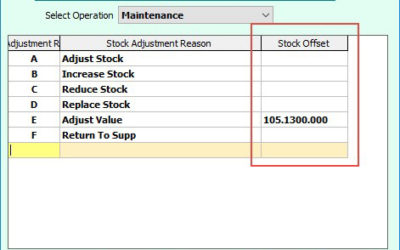SYM-PAC's new features : within Inventory Management