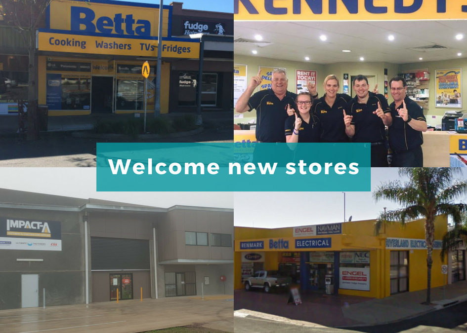 Welcome new stores to SYM-PAC : July '18
