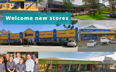 Welcome new stores to SYM-PAC : August '18