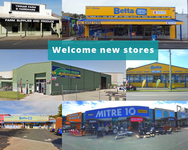 Welcome new stores to SYM-PAC : September '18