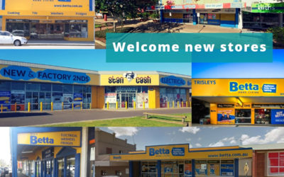 Welcome new stores to SYM-PAC : November '18