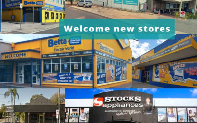 Welcome new stores to SYM-PAC : October '18