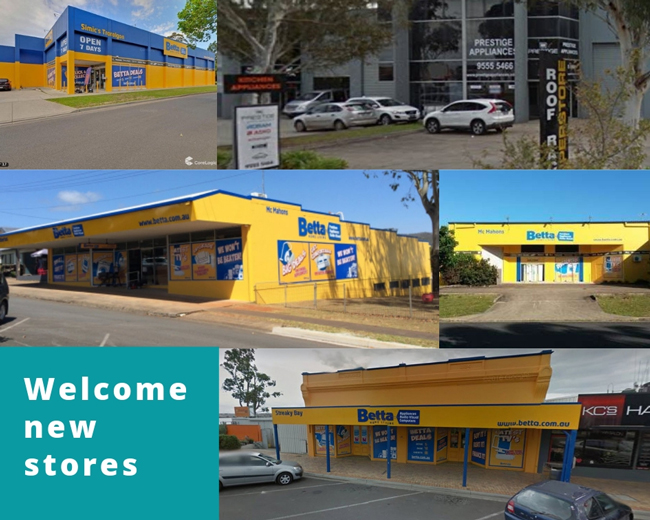 Welcome new stores to SYM-PAC : December '18 & January '19