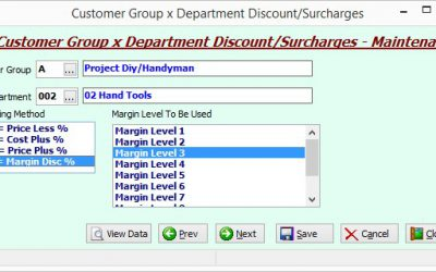 SYM-PAC's new feature : Margin Level Discounts