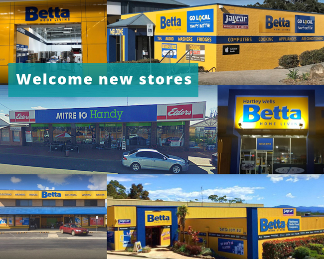 Welcome new stores to SYM-PAC : February '19