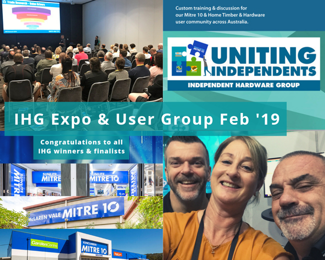 SYM-PAC at the IHG Expo 2019 : Uniting Independents