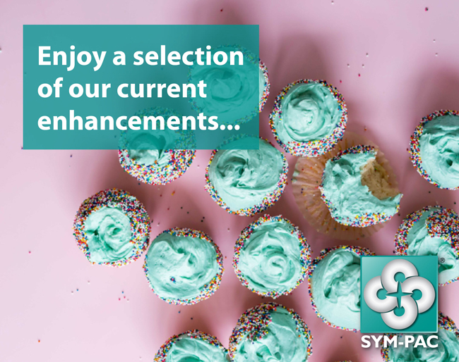 SYM-PAC's new features : a selection of enhancements