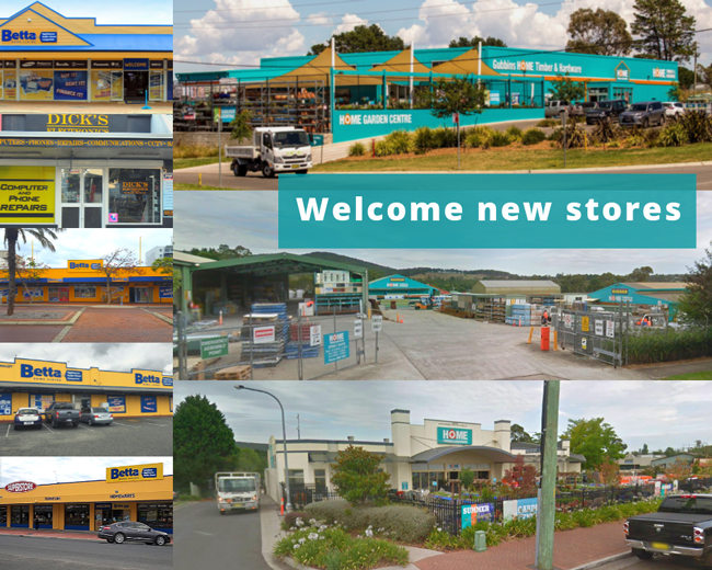 Welcome new stores to SYM-PAC : April '19
